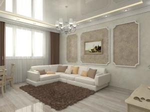 Пример ремонта квартиры под ключ в Харькове